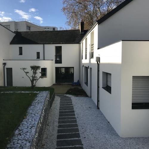 Maison après travaux d'imperméabilité à Nantes