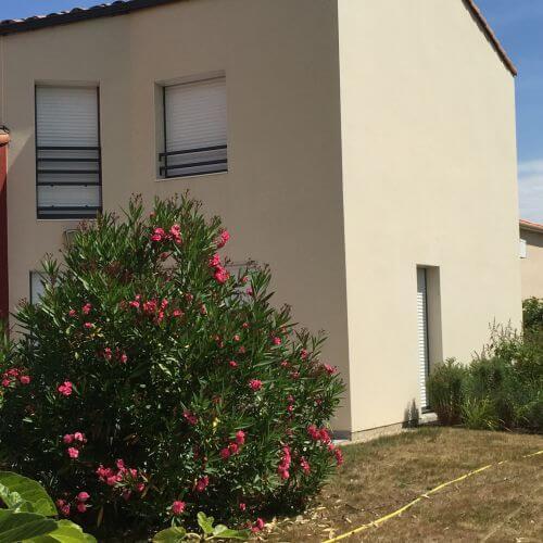 Traitement des façades à Basse Goulaine par l'entreprise Nord Habitat