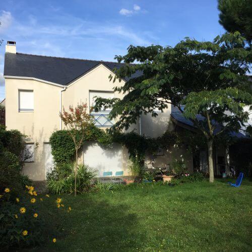 Nettoyage de façade à Nantes par Nord Habitat