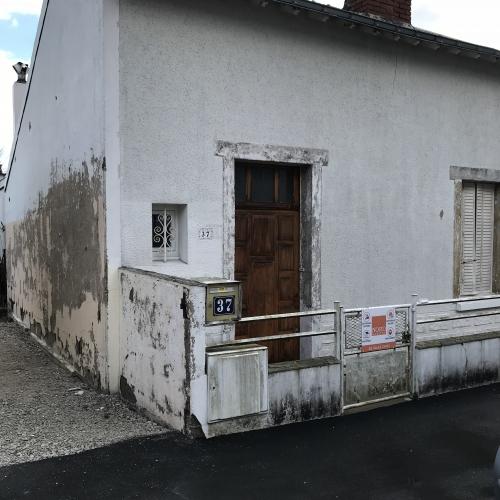 Rénovation des enduits de cette façade 44000 Nantes