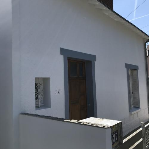Rénovation de façade avec notre système d'imperméabilité i3 rentrant dans notre garantie décennale 44 NANTES