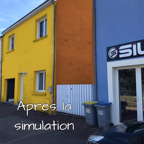 Photo après simulation Nantes
