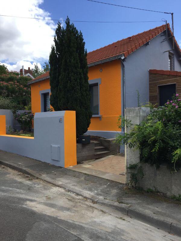 Peinture Faade De Maison Pont Saint Martin